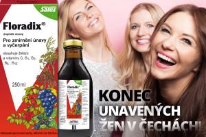Konec unavených žen v Čechách! Proti únavě funguje méně kávy a více železa! Díky dobře vstřebatelnému tekutému železu z přírodního produktu Floradix bude vaše únava minulostí.