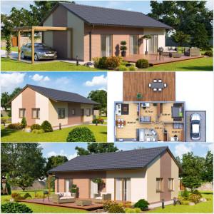 Zděné domy na klíč od společnosti Certifikované zděné domy a dřevostavby na klíč, s.r.o.
