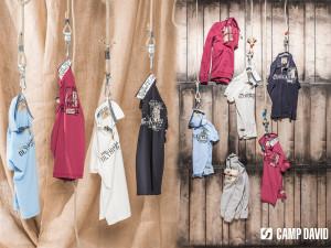 Pánské oblečení CAMP DAVID mají v šatníku celebrity, jakými jsou Dieter Bohlen nebo zpěvák Michal David. Cenově dostupné je však pro každého.