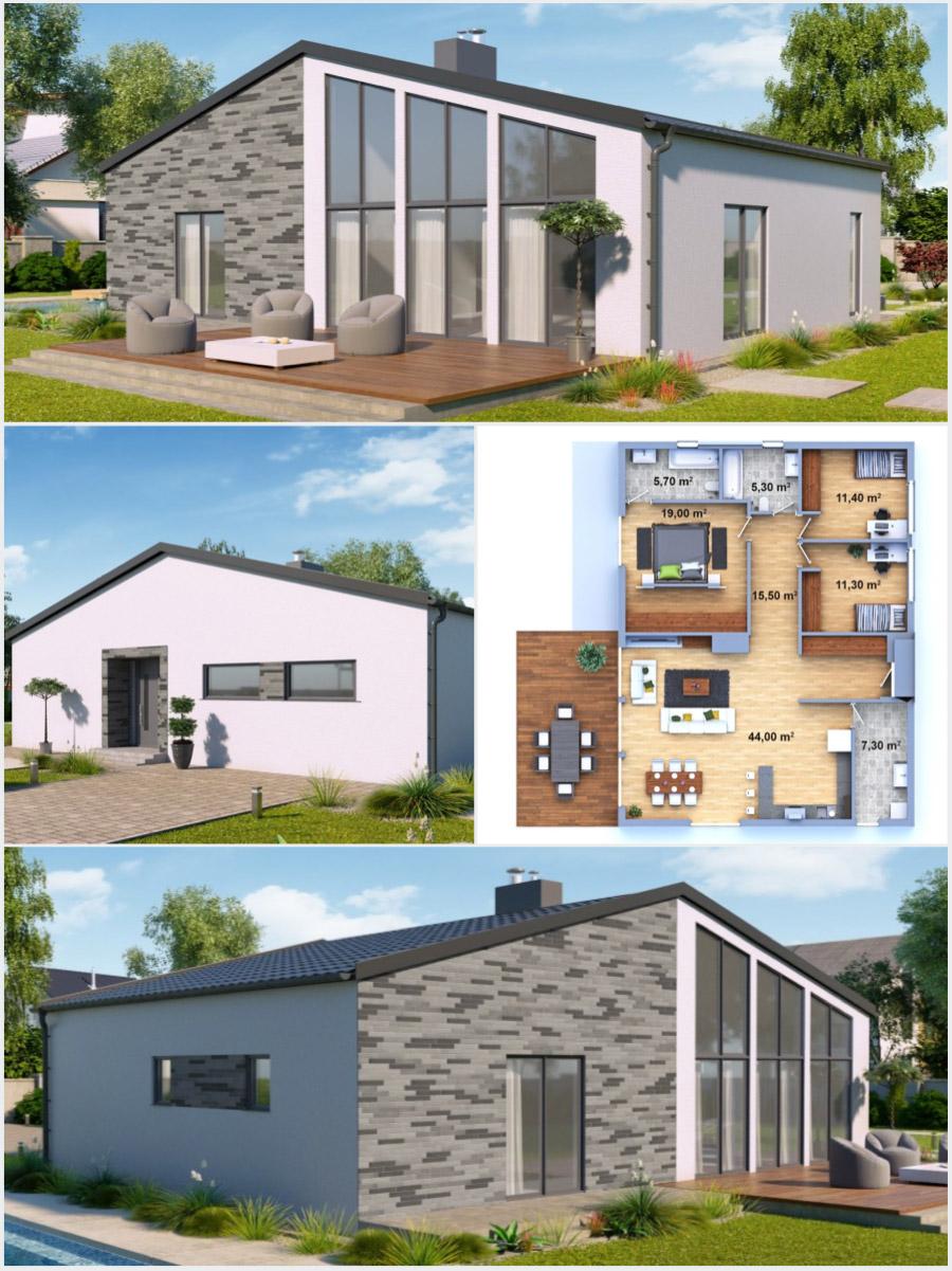 Nízkoenergetické domy na klíč od společnosti Certifikované zděné domy a dřevostavby na klíč, s.r.o.