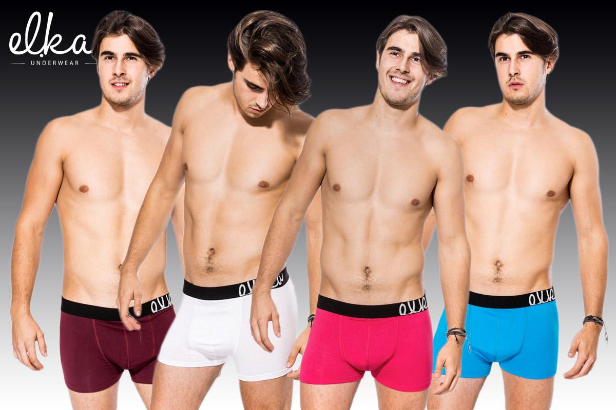Pánské boxerky El.Ka Underwear, to je precizní česká výroba.