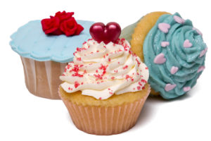 """Hitem """"kuchařinek"""" jsou přezdobené minidortíčky cupcakes."""