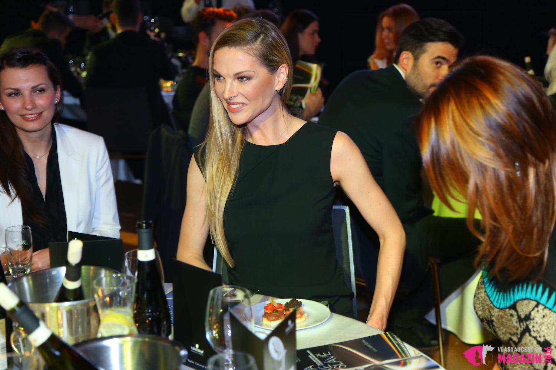 Pavlína Němcová na akci Czech and Slovak Hairdressing Awards 2015.