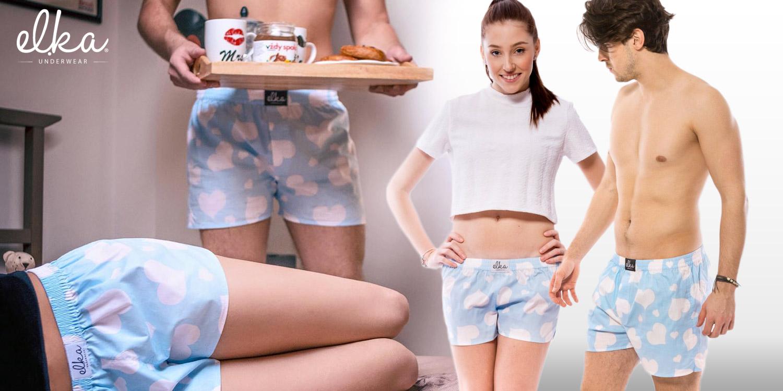 Trenky pro páry od El.Ka Underwear oživí i váš intimní život.