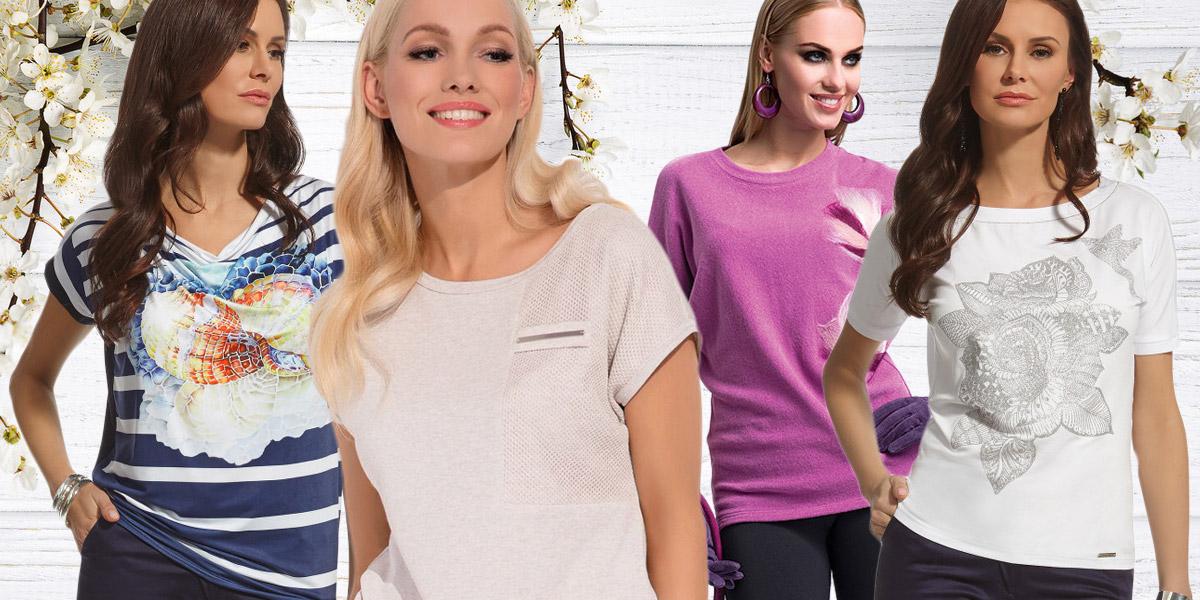 Dámská trička a módní trendy  jak se obléknout abych byla in ... f79dbf2c81