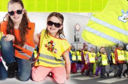 Dětské reflexní vesty i reflexní pásky mění šatník dětí i módu dospělých. Podívejte se na sortiment reflexních doplňků, které zvýší vaši bezpečnost.
