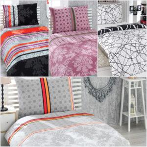 Povlečení rychle a levně změní styl a design naší ložnice.