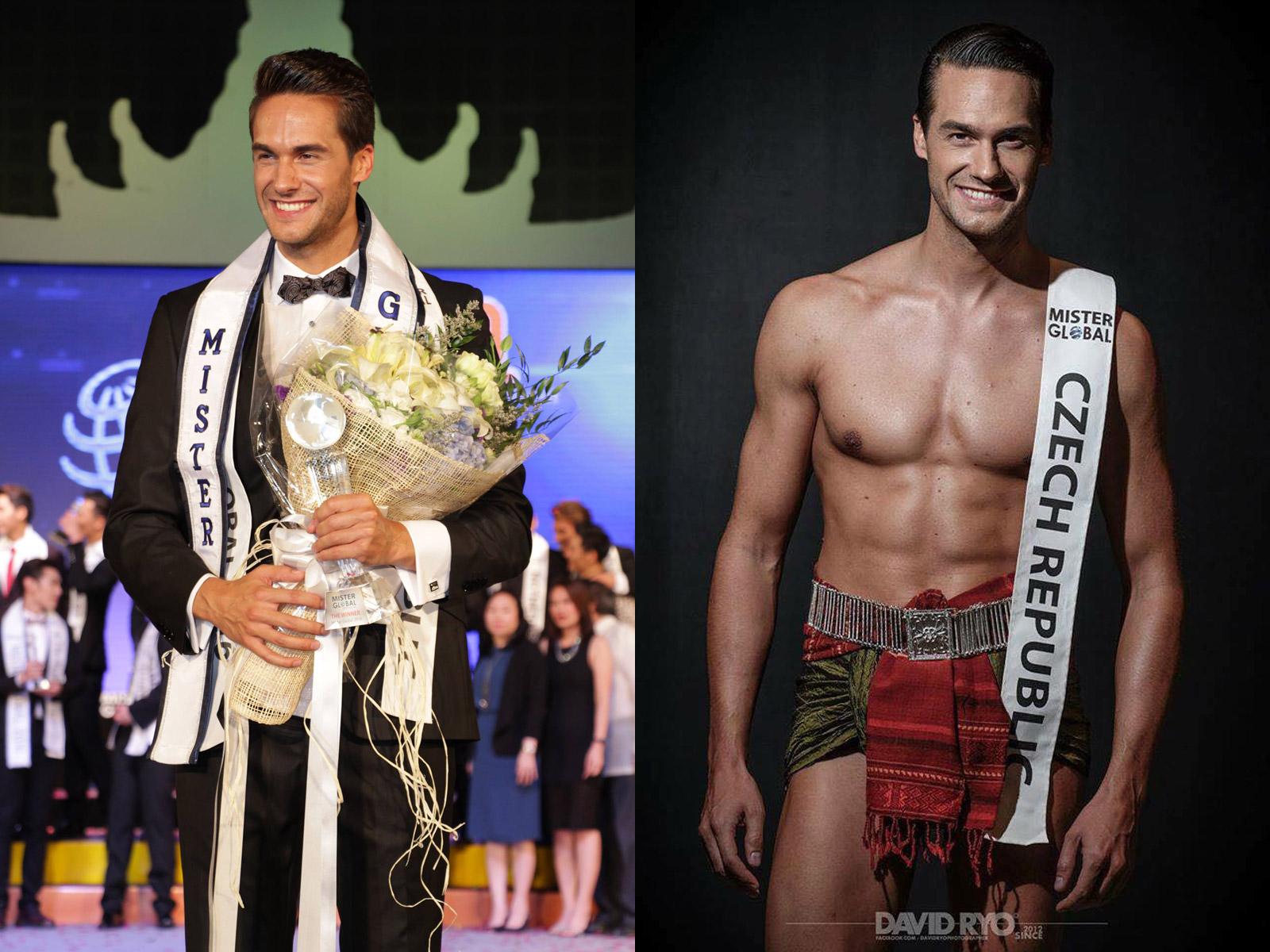 Mostečan Tomáš Martinka je nejkrásnějším mužem planety, Zvítězil v prestižní soutěži Mister Global 2016, která je obdobou světových soutěží Miss.