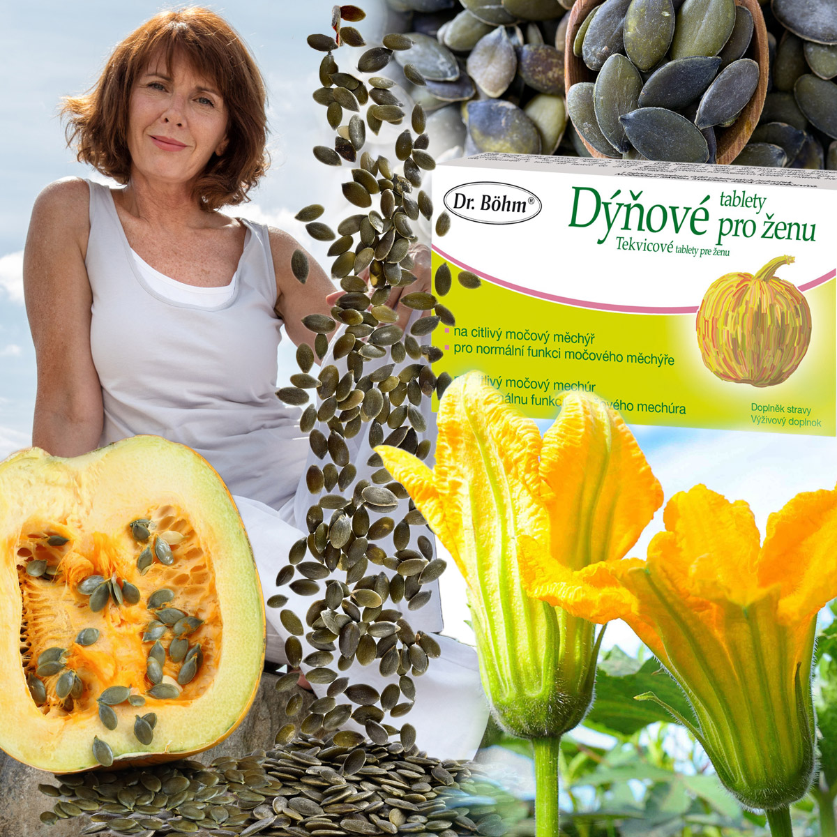 Extrakt z dýňových semínek vám dodá více jistoty a sebevědomí. Avšak nezapomeňte, že účinné látky obsahují pouze vhodně připravené extrakty.