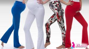 V těhotenství by kalhoty měly mít v pase gumu a dokonce je klidně nahraďte těhotenskými leginami