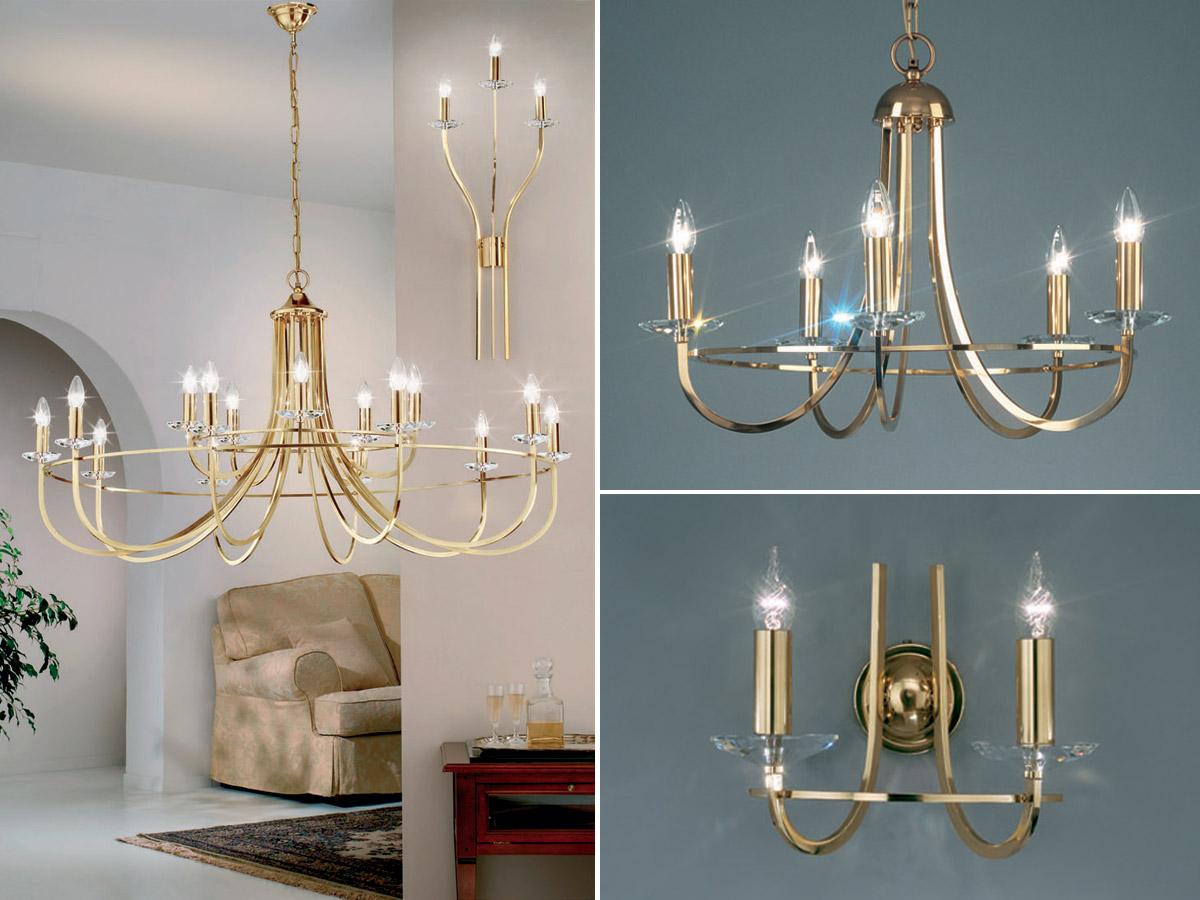 Lustry je třeba doladit s ostatním osvětlením v interiéru.