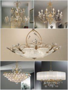 Luxusní svítidla zcela změní ráz interiéru. Nebojte se kombinovat minimalistický a tradiční luxus. Skvěle se doplní.