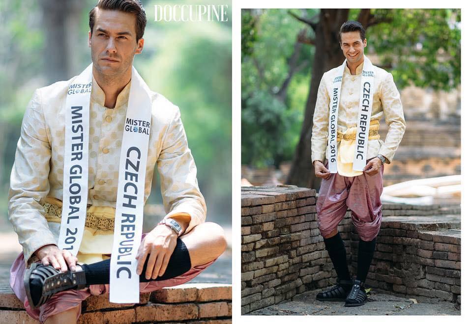 Tomáš Martinka se na soutěž Mister Global 2016 dostal díky svému druhému místu v české soutěži mužské krásy Muž roku 2016.