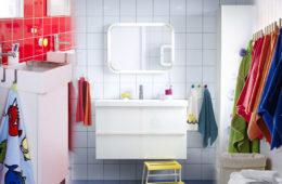 Koupelnové doplňky, vybavení a nábytek v atraktivních barvách z Favi.cz vám dodají energii a lepší náladu, kdykoliv vkročíte do své koupelny.