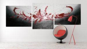 Dejte svému interiéru duši a design. Oživte jej autorskými obrazy. Abstraktní obrazy vám Andrea Gonšenicová vytvoří i na přání.