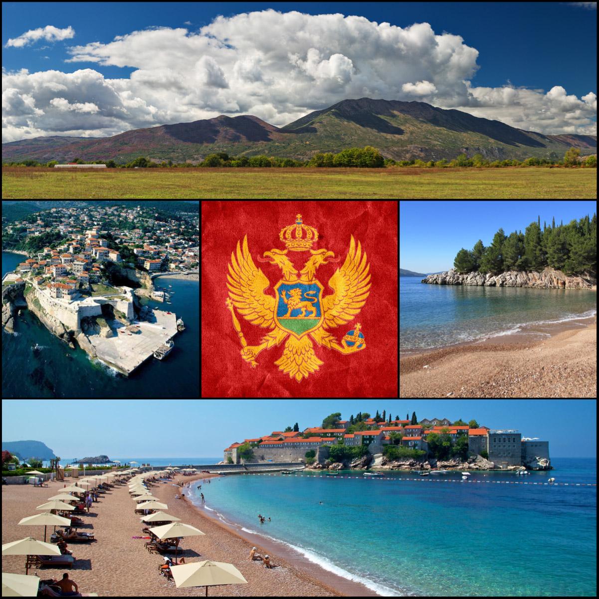 Černá Hora nabízí velké množství zajímavých letovisek. Je letecky vzhledem k délce letu nejdostupnější destinací.