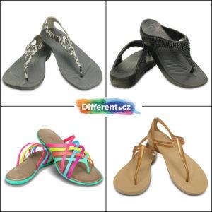 Boty Crocs neustrnuly na tradičním designu notoricky známých pantoflí a už dávno připomínají spíše boty módní značky Mellisa, která vsadila na podobný materiál. Pantofle a žabky koupíte v e-shopu Different.cz.