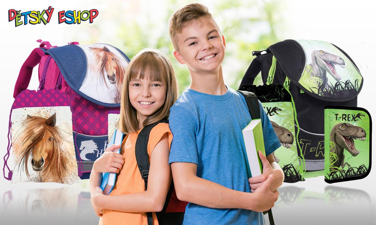 Hezký školní batoh nebo školní aktovka umí udělat nastávajícímu prvňáčkovi nevídanou radost. Na to, kdy zasedne prvně do školní lavice, se nebude moci dočkat.