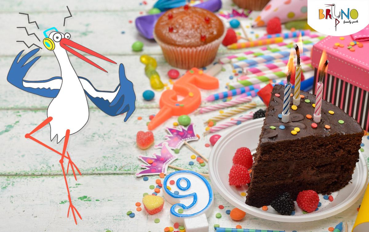 O narozeninovou party pro děti se kompletně postarají profesionálové v BRuNO parku.