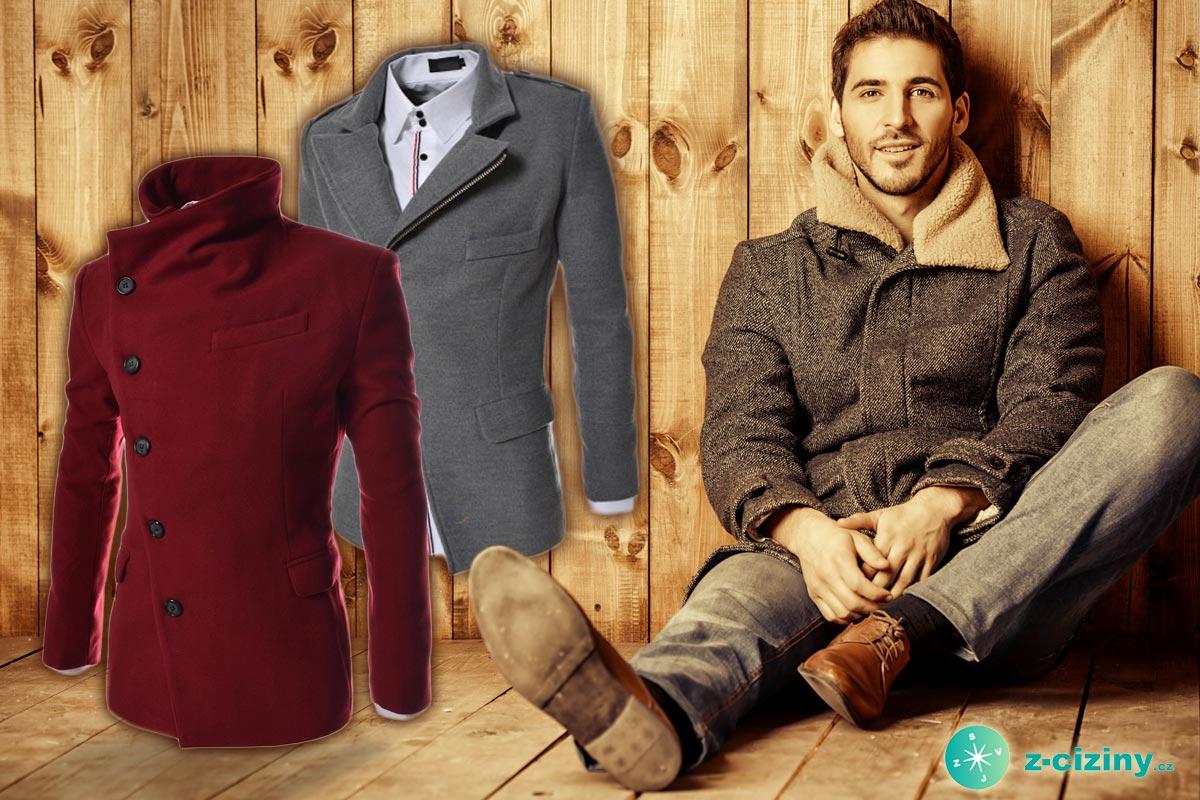 Pánský kabát by neměl chybět v žádném šatníku. Za výhodné ceny jej teď koupíte ve výprodeji pánského oblečení v e-shopu Z-ciziny.cz.