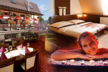 """Romantický penzion Ondřejník nabízí jiný pohled na Beskydy. Přijďte si je užít jako """"wellness Beskydy"""" – s vířivkou, saunovým světem a masážemi."""