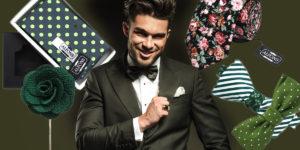 Z business a večerního šatníku se doslova do ulic vydaly doplňky, jako jsou pánské motýlky, luxusní kravaty, kapesníčky do saka i ozdoby do klopy.