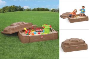 Pískoviště nabízí dětem mnoho hodin aktivní a kreativní zábavy.