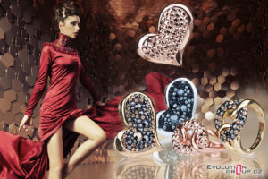 Swarovski křišťály jsou díky své kráse skvělým doplňkem drahých kovů.