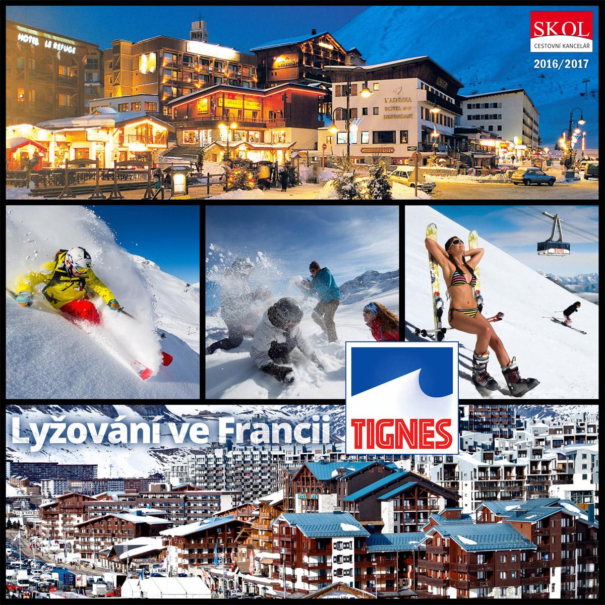 Savojské Alpy a lyžařské středisko Tignes