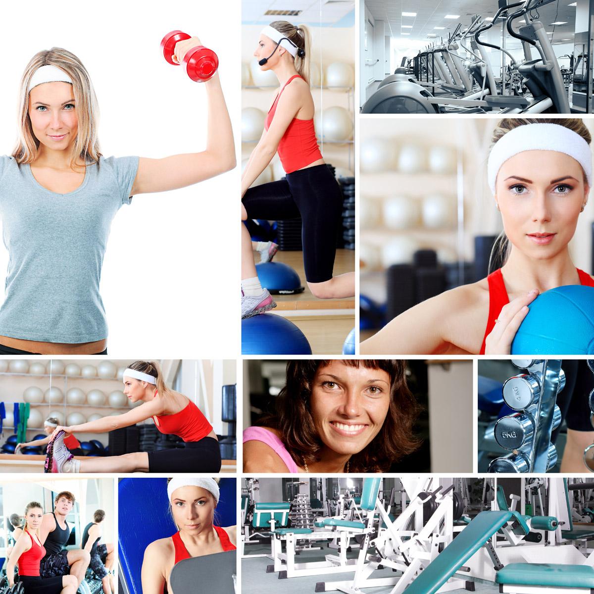 Zajděte si zacvičit do dámského fitness.