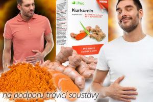 Doplněk stravy Liftea Kurkumin pro zdravý žlučník a játra lze užívat dlouhodobě.