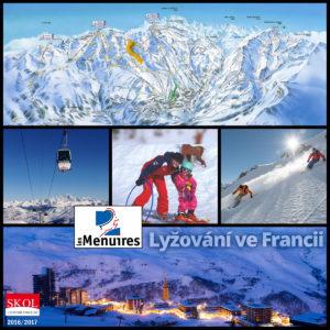 Středisko Les Menuires – lyžování i aquapark
