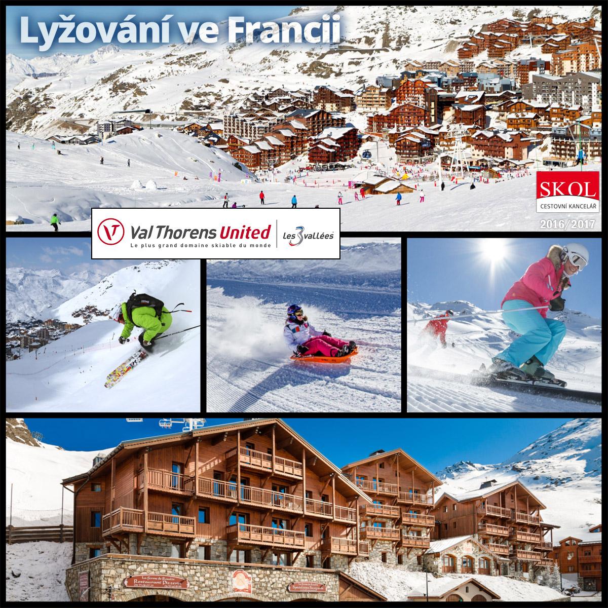 Val Thorens nabízí nejvýše položené lyžařské středisko v Evropě