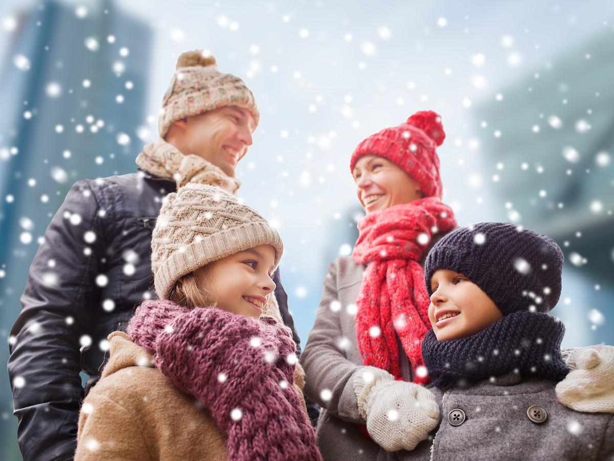 Obléct celou rodinu do zimního není nic levného.