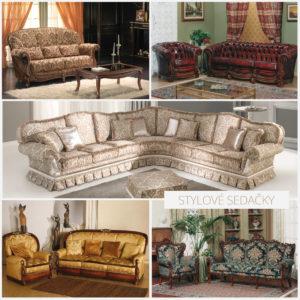 Nemusíte zdědit zámek, abyste měli příležitost doplnit interiér sedačkou v historickém stylu. (Sedačky koupíte v e-shopu iSedacky.cz.)