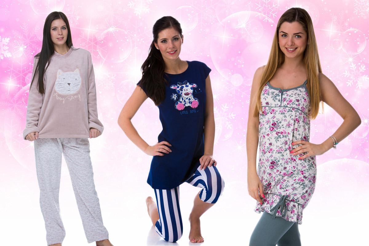 Některé ženy mají raději pyžama. I ta se hodí jako dárek k Vánocům, ale i k jakékoliv jiné příležitosti.