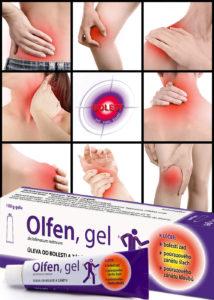 Na bolest kloubů fungují masti a gely proti bolesti. Kvalitním výrobkem je Olfen® gel.
