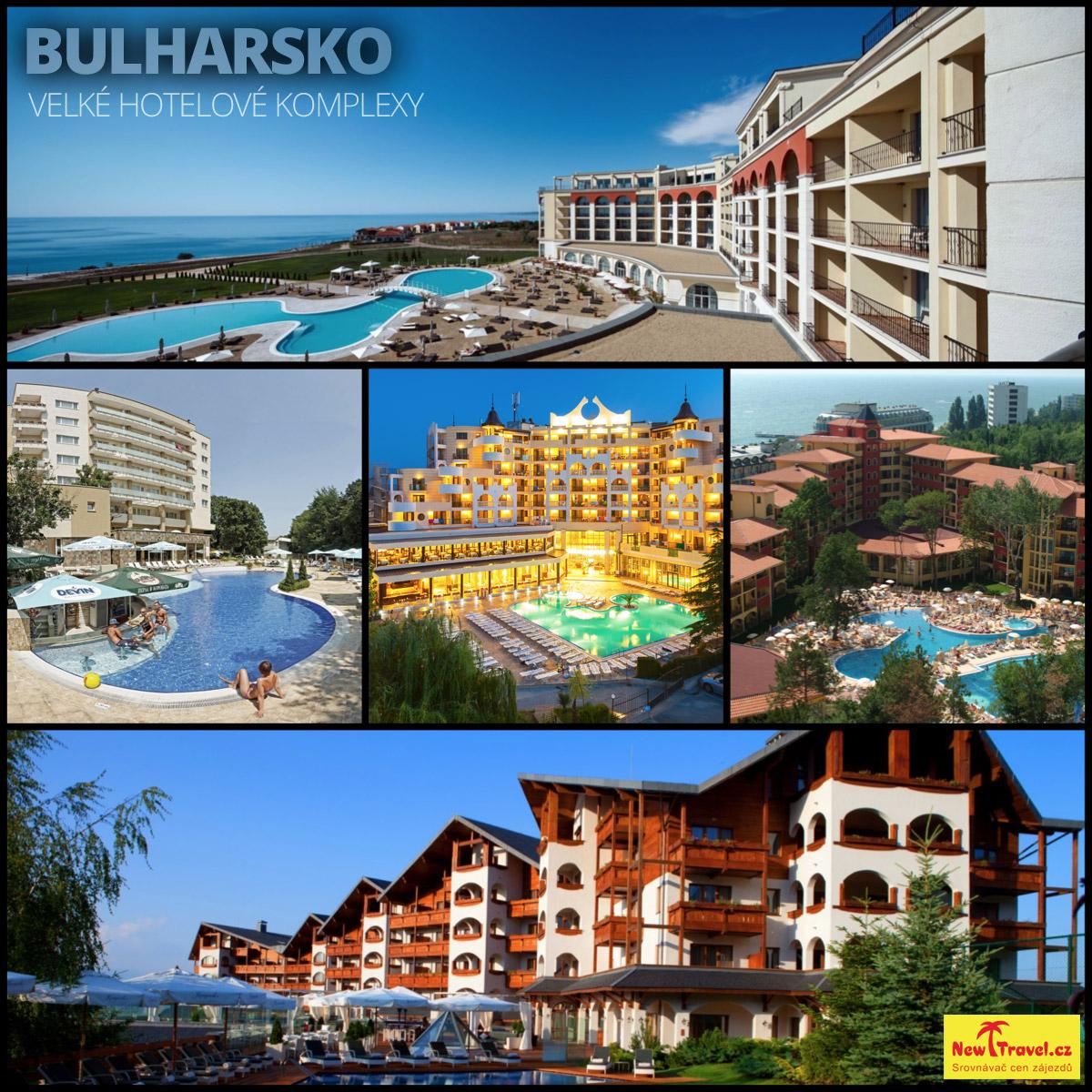 Dovolená v Bulharsku –to jsou především velké hotelové komplexy.