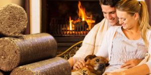 Topíte dřevem? Zkuste to bez zdlouhavých příprav dřeva na zimu – začněte na topení používat ekologické a praktické dřevěné brikety v akci.