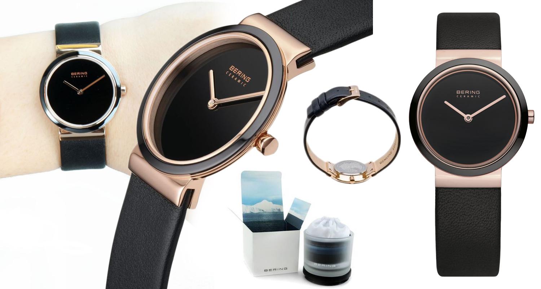 Nádherné dámské hodinky Bering 10729-446 v minimalistickém designu. Koupíte  je na Helveti. 9141e2d4933