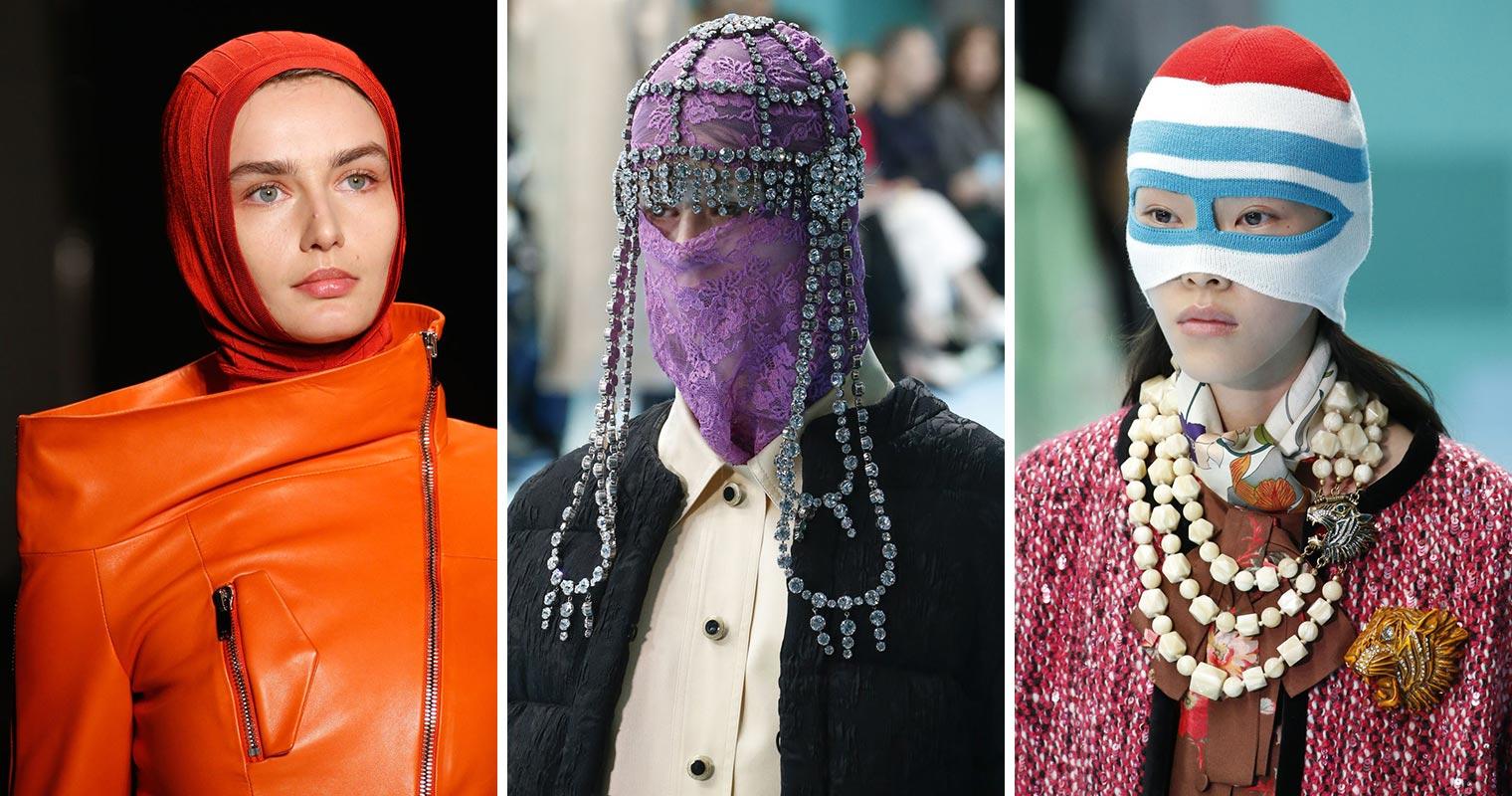 Zapomeňte na klasické čepice a klobouky. Nasaďte si kuklu. Na podzim a v zimě 2018/2019 bude hitem.
