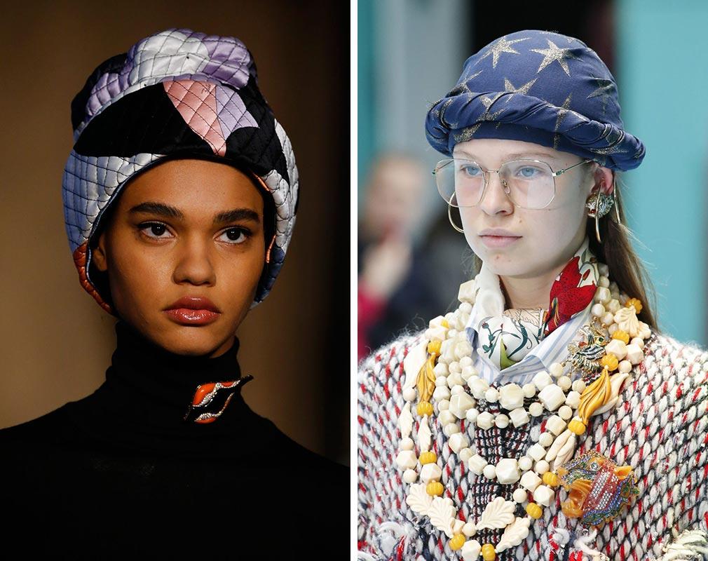 Máte odvahu na turban? Zejména na podzim 2018 jej rozhodně zkuste.