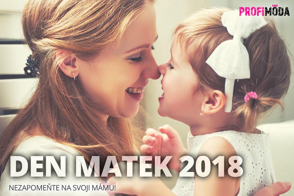 Den matek 2018 se slaví 13. května. Nezapomeňte na svoji mámu!