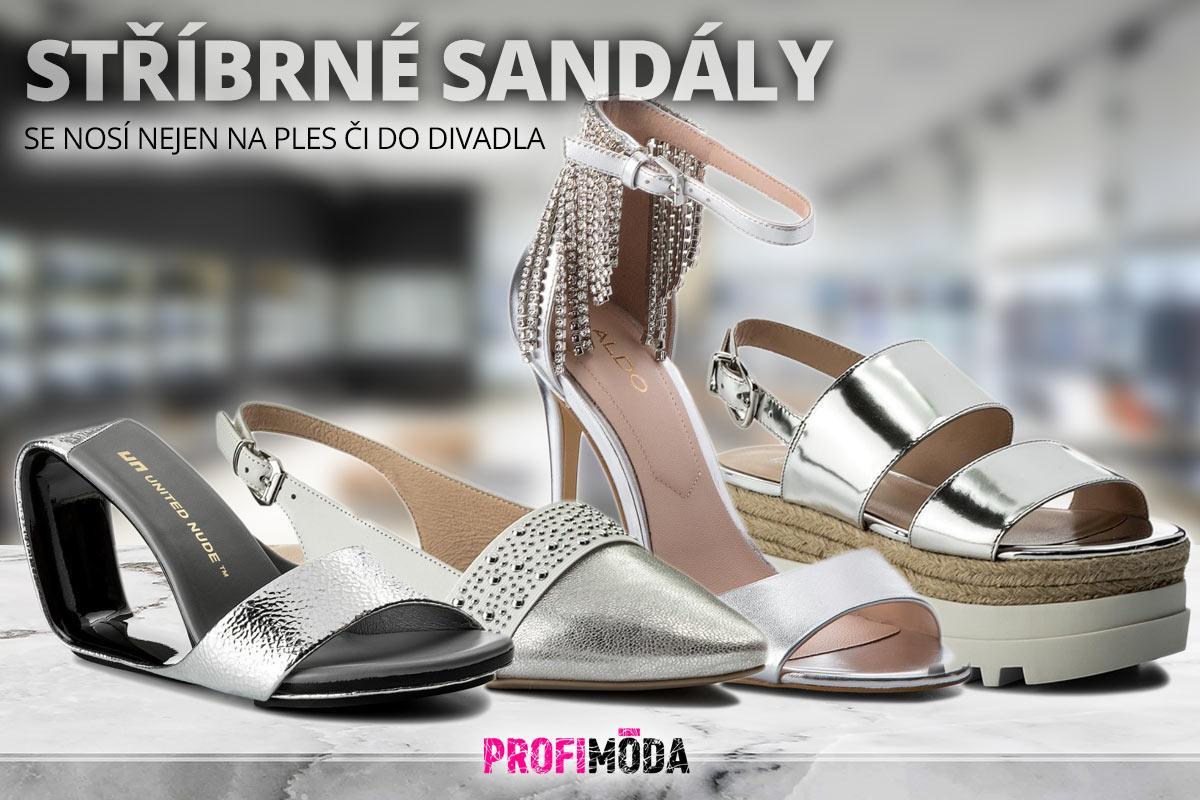 1b3997328f08 Zkuste stříbrné letní boty – patří mezi aktuální módní trendy 2018.