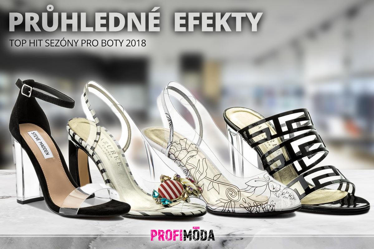cbec5b0a670c Průhledné PVC efekty na sandálcích nebo pantoflích z vás udělají v mžiku  trend settera.