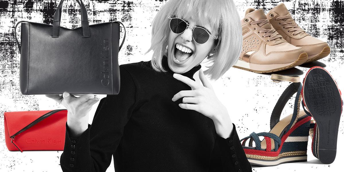 0195e5035f8 Kabelky Calvin Klein a Tommy Hilfiger boty – skvělí parťáci pro letošní léto