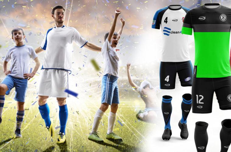 Zahrajte si fotbal stylově a pohodlně! DDsport nabízí fotbalový dres na míru.