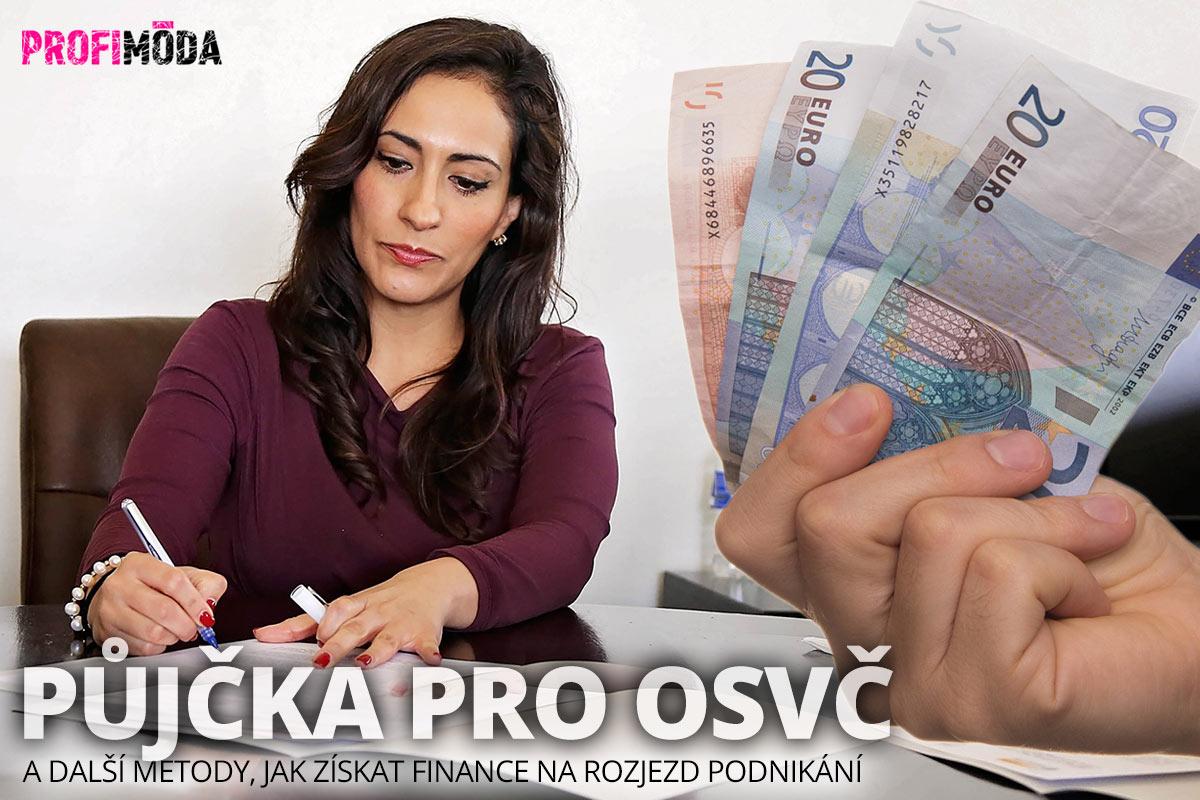 Potřebujete finance na rozjezd podnikání? Půjčka pro OSVČ je jedním ze způsobů, který lze zkusit.