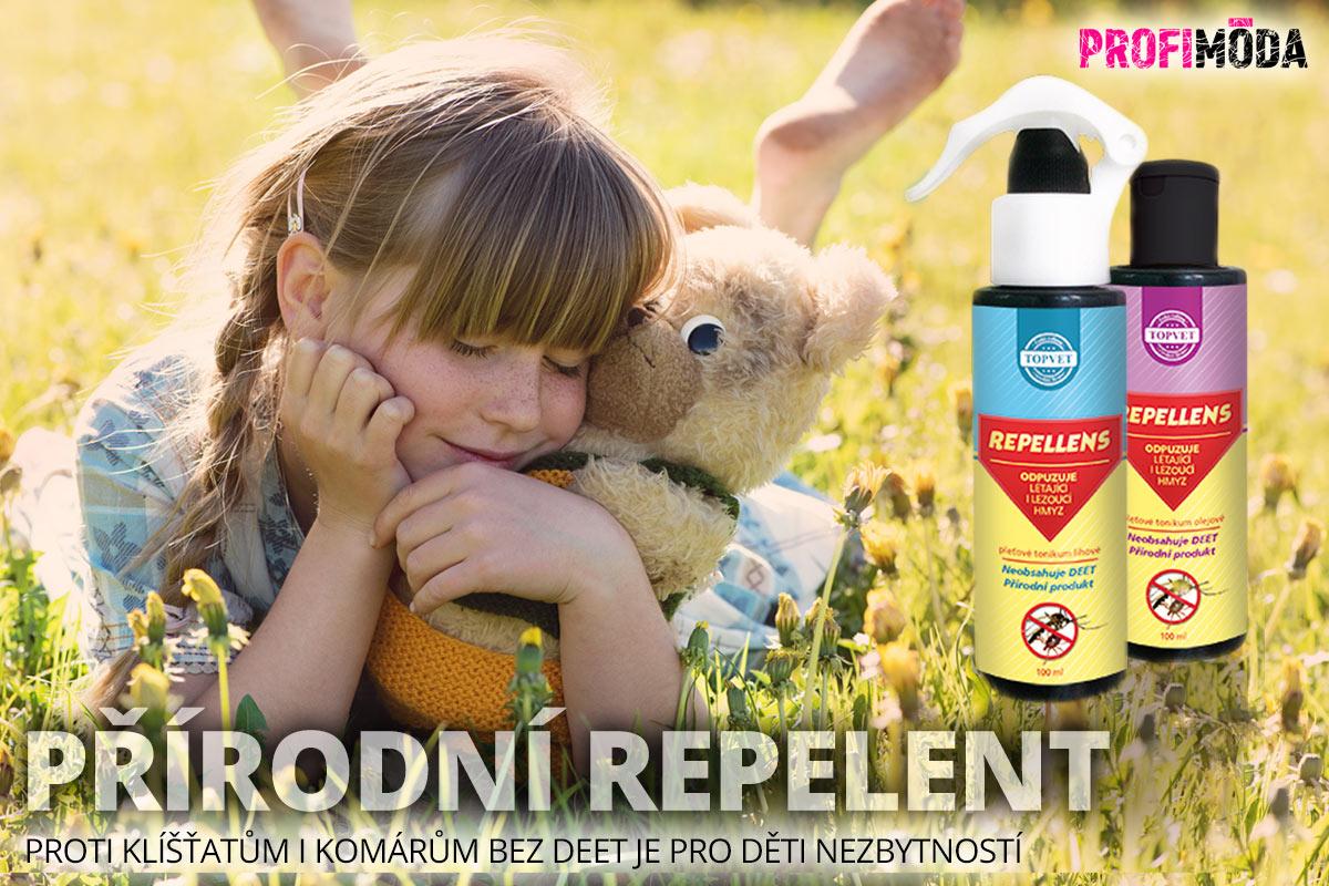 Repelent proti klíšťatům i komárům bez DEET si lze vyrobit, nebo si jej máte možnost koupit od renomovaných výrobců přírodní kosmetiky. Přírodní repelenty pro děti i dospělé vyrábí i česká společnost Topvet.