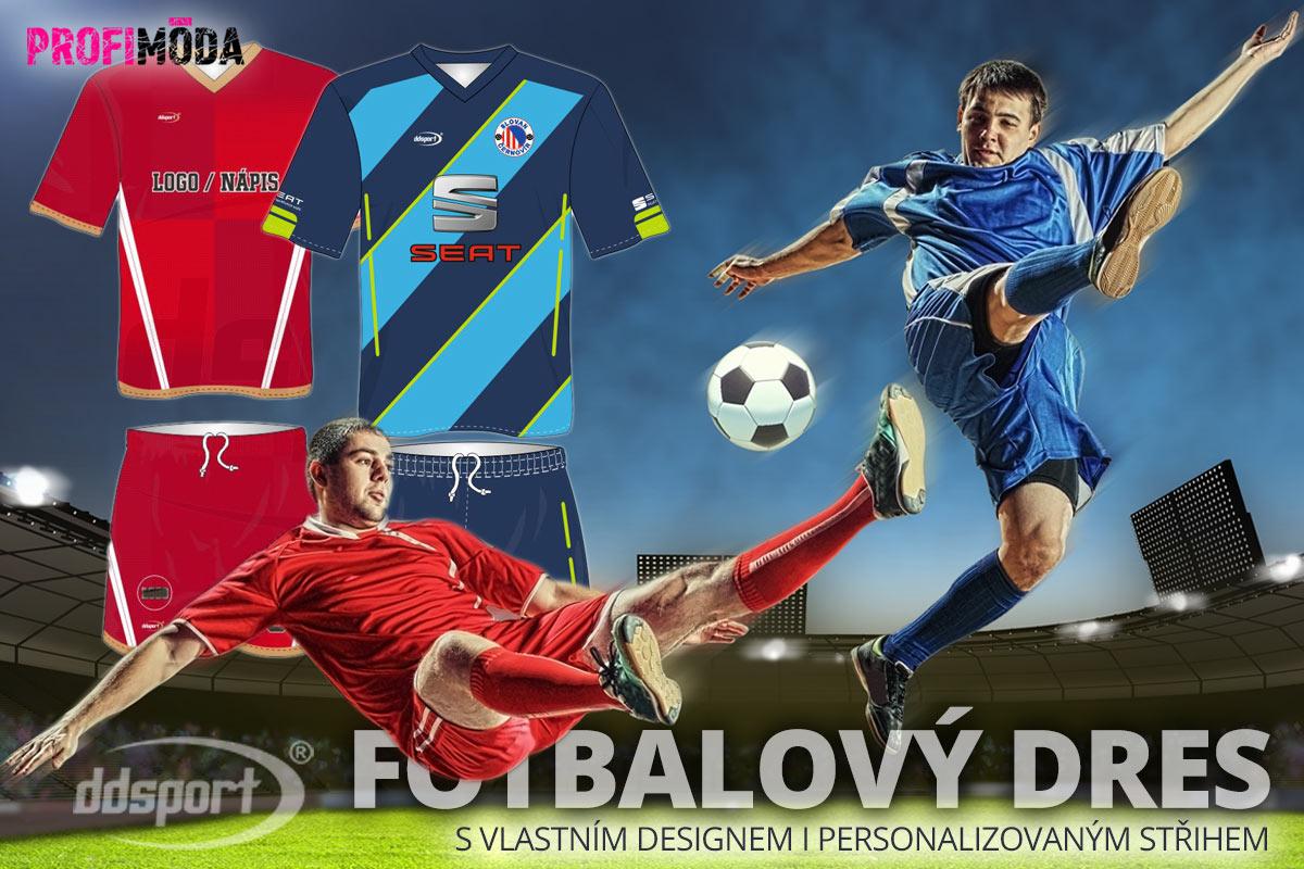 Věnujte se nejoblíbenějšími českému sportu stylově! Fotbalový dres na míru pro vás i váš tým snadno objednáte u profesionálního dodavatele sportovních dresů DDsport.